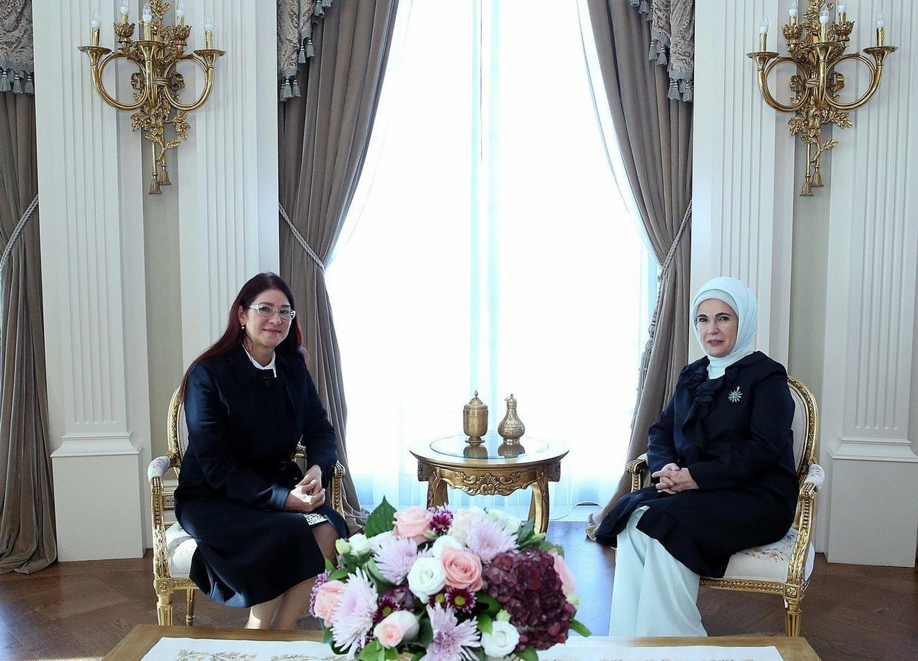 Na sastanku sa Silijom Flores, suprugom predsednika Venecuele Nikolasa Madura oovg meseca u Ankari
