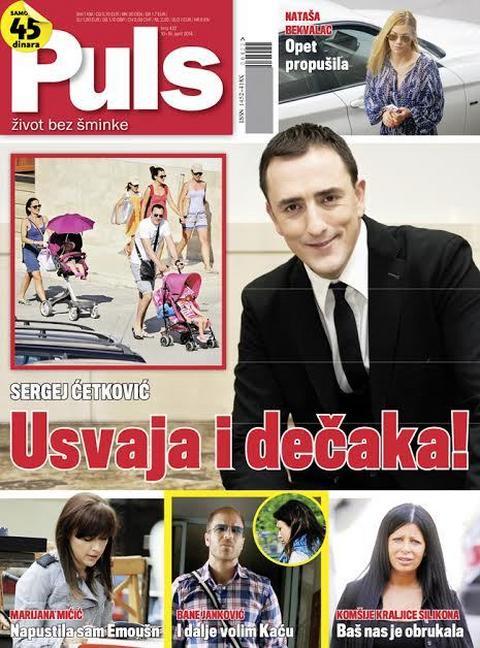 U NOVOM BROJU PULSA Sergej jedva čeka da stigne i sin!
