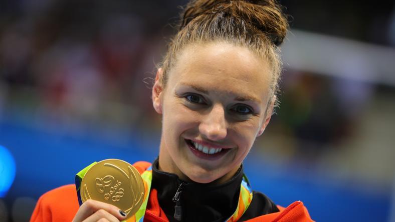 Hosszú Katinka eddig három aranyat nyert az olimpián/Fotó: AFP