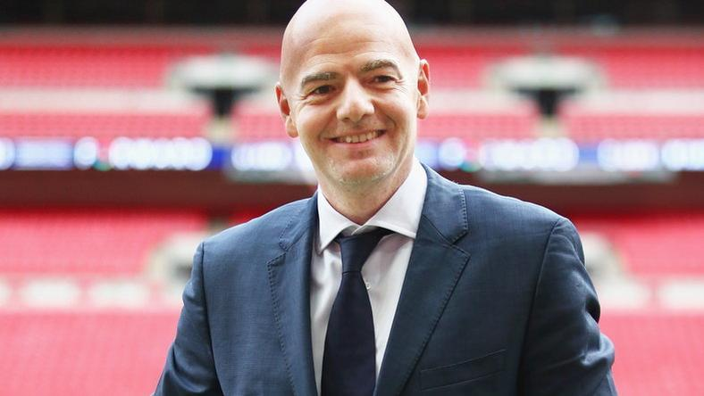 Gianni Infantino nyert/ Fo­tó: Europress-Getty Images