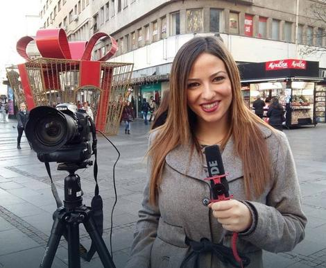 Pred kamerama: Marija Čanković radila je promocije, ankete, statirala je u TV emisijama i filmovima...