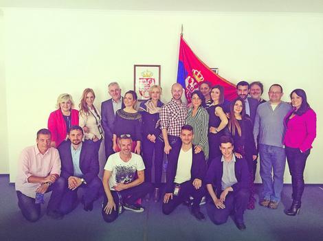 Srpska delegacija u Kijevu