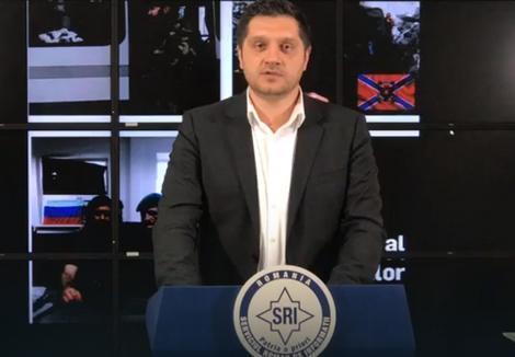 Portparol SRI Ovidiu Marincea govori na konferenciji za medije o Živkovićevom slučaju