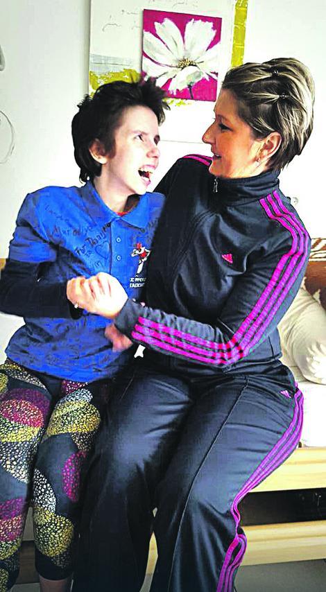 U budnoj komi od porođaja: Danijela sa majkom Vesnom