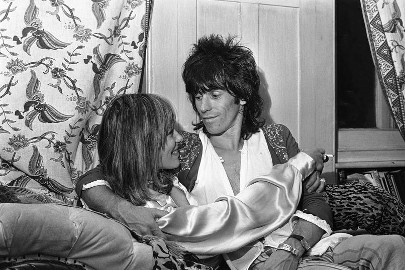 Anita Pallenberg i Keith Richards