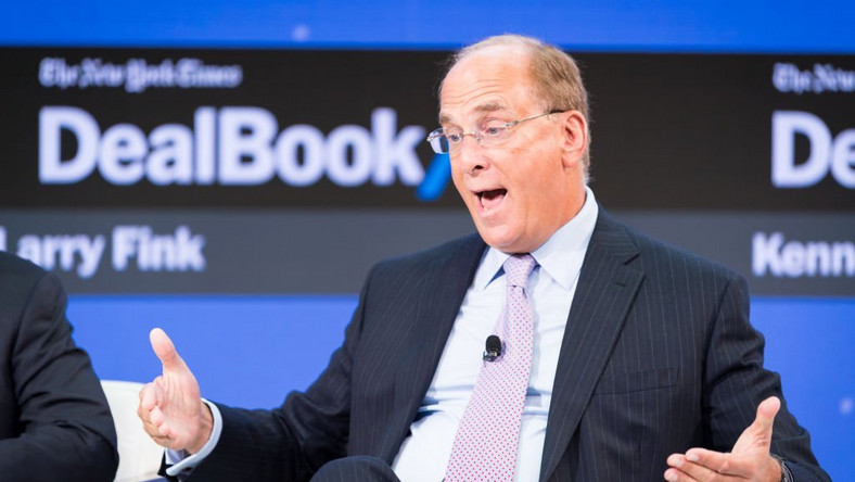 Investors jumping into bonds, says BlackRock boss
