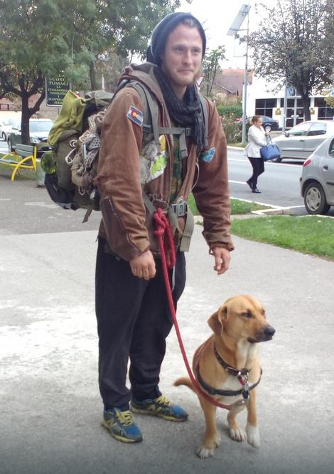 Eliot Otero i njegov pas Marko Polo iz Gradiške se zaputili prema Hrvatskoj