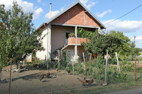Kuća nesrećne bake koja je napadnuta