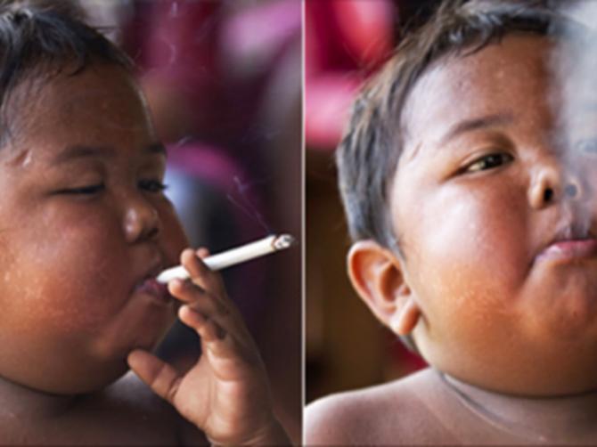 Sećate li se dečaka koji je sa DVE godine pušio DVE pakle dnevno? Ovako danas izgleda!