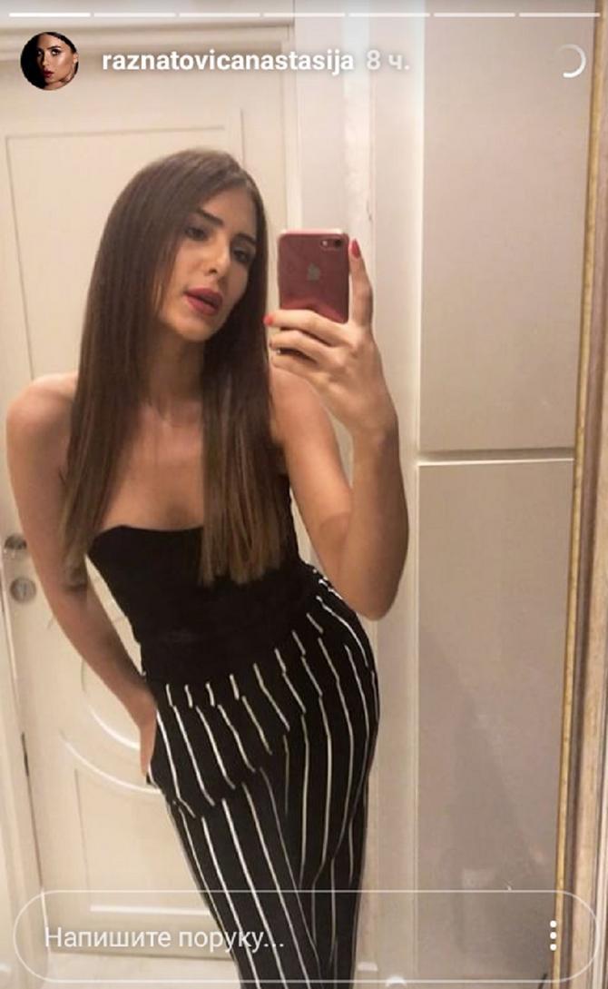 Anastasija sa novom frizurom