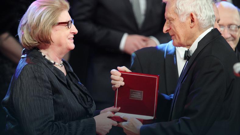 Hanna Suchocka i Jerzy Buzek