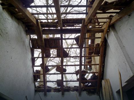 Krov odleteo u vazduh