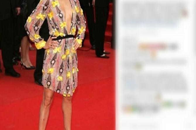Ovaj blam sa Kanskog festivala niko nije primetio: Da li vidite OZBILJNU GREŠKU na ovoj haljini?
