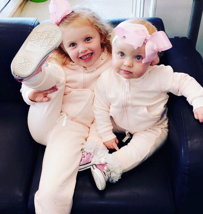 Mala Arija sa sestrom pre tragedije