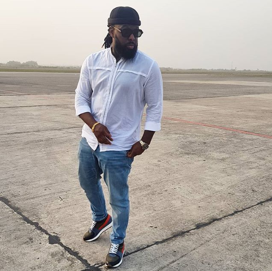 Timaya got for himself not just one but two exotic cars including a Maybach[Instagram Timaya]