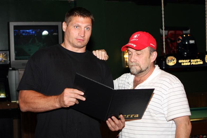 Andrzej Golota and Andrzej Gmitruk