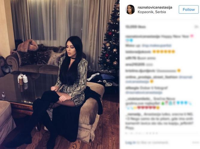 Anastasija je imala SAVRŠEN novogodišnji stajling: Njena tri modna pogotka!