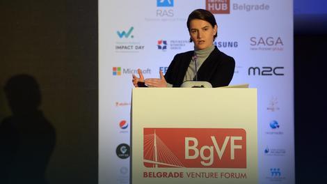 Ana Brnabić na otvaranju najvećeg foruma investicija