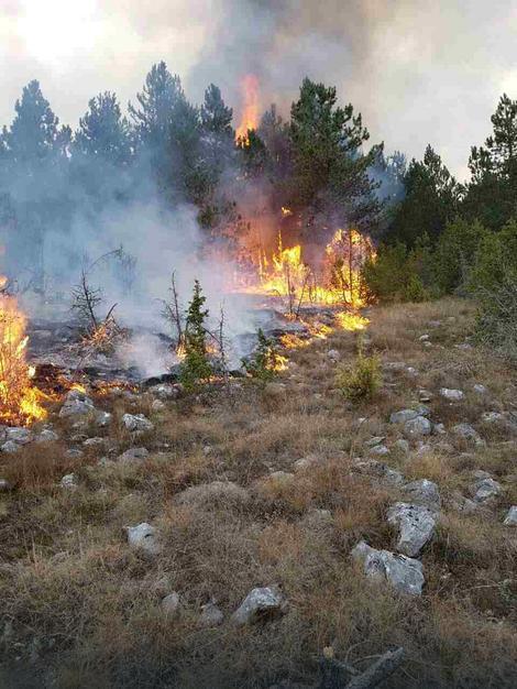 Požar u selu Senište kod Nove Varoši