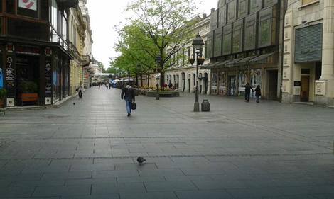Prazan Beograd Pogledajte Kako Izgledaju Centralne Gradske