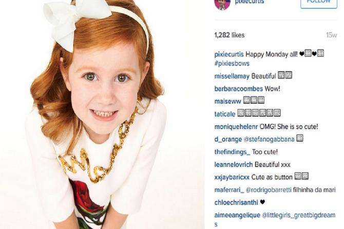 Ima samo četiri godine, a svaki njen post vredi 6.000 dolara