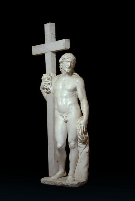 Mikelanđelo, Vaskrsli Hrist, 1514-15. (dovršio nepoznati umetnik 17. veka)