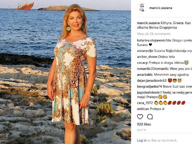 Da je MILIONERKA, Suzana Mančić bi novac OVAKO trošila: Nije se dvoumila, odgovorila je kao IZ TOPA!