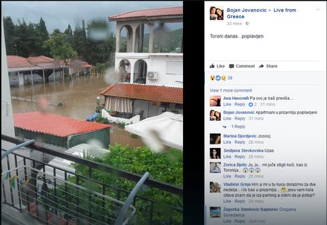Toroni poplavljen