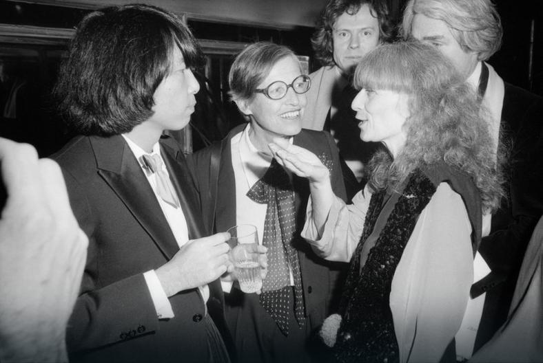 Kenzo Takada i Sonia Rykiel w Paryżu w 1978 roku