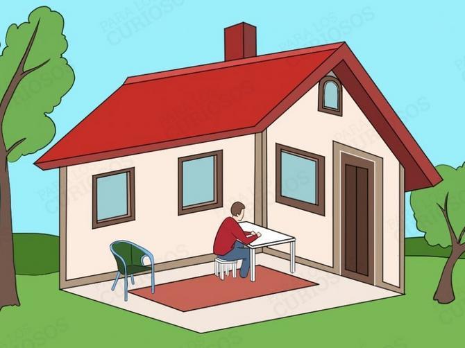 Pažljivo pogledajte - da li je čovek u kući ili van nje? Odgovor otkriva BITNU STVAR o vama