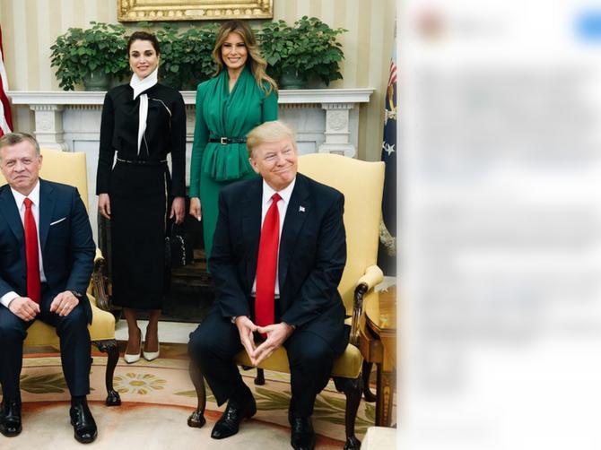 Donald i Melanija ponovo NA UDARU: Vidite li detalj na slici koji je ZASMETAO SVIMA?