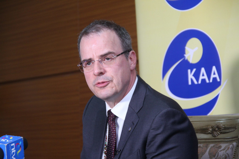 KAA managing director Johnny Andersen.