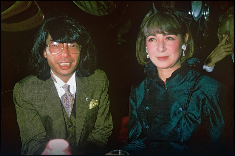 Kenzo Takada w roku 1986
