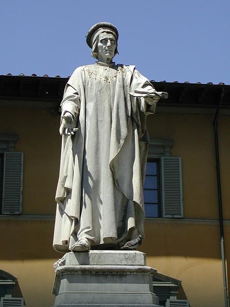 Statua Frančeska di Marka Datinija (1335-1410) u Pratu