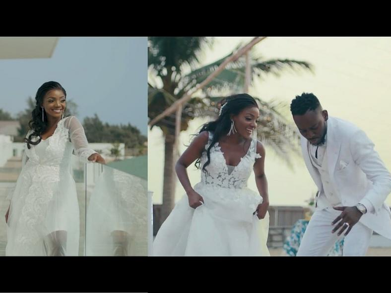 The plan is to have the kind of wedding you want even if it means shutting down some outside opinions. [Credit: Youtube Vevo Adekunle Gold]