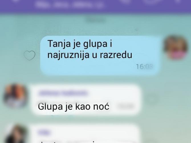 """""""OVO je FB grupa za sve one koji misle da je Tanja glupa"""". Da li je i vaše dete žrtva virtuelnog nasilja?"""