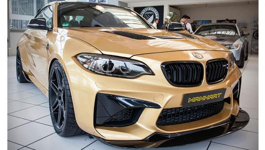 BMW M2 po tuningu Manharta