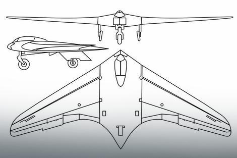Horten 229, nemački prototip bobardera testiran 1944.