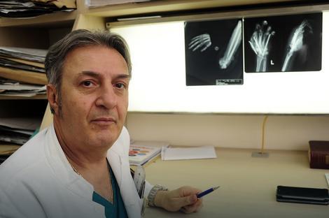 Dr Čedomir Vučetić pionir je u ovoj oblasti hirurgije: Ne dešavaju se često takve teške povrede