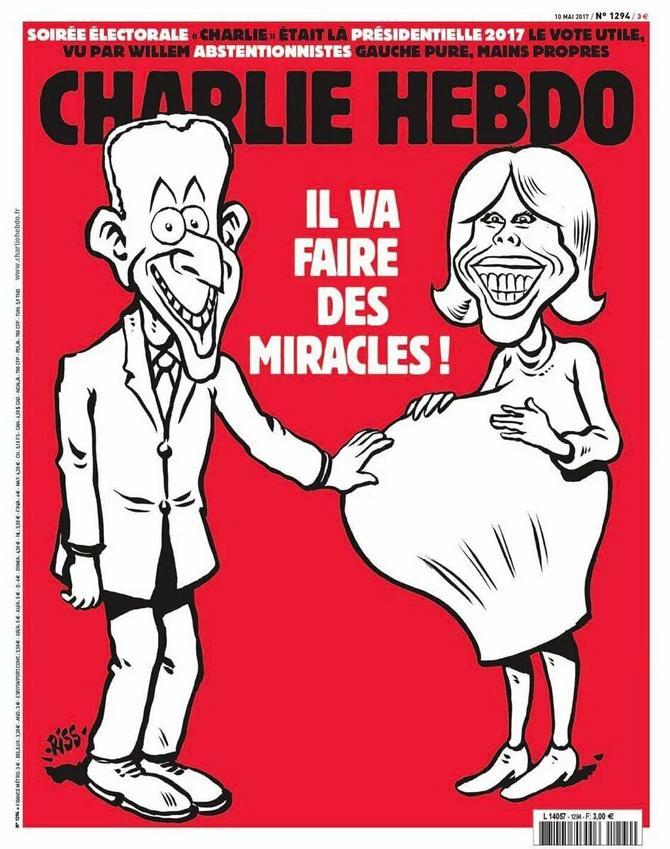 Brižit i Emanuel Makron završili na karikaturi