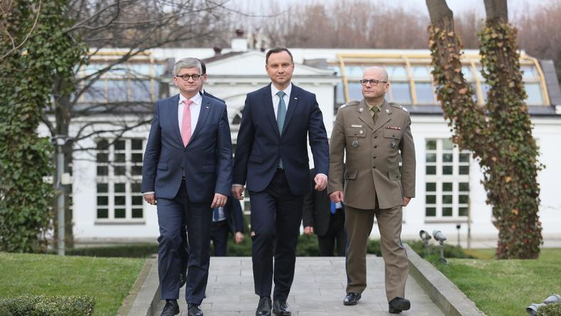 Jarosław Kraszewski (1P) jest bliskim współpracownikiem prezydenta Andrzeja Dudy