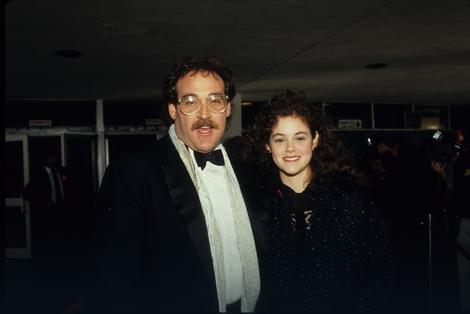 Rebeka sa glumcem Džoelom Bruksom
