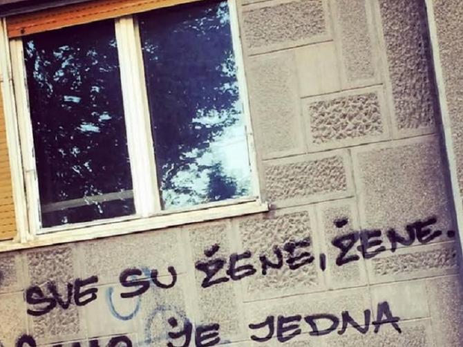 Svi koji prođu pored ovog grafita, pažljivo ga PROČITAJU: Nepoznati autor na Voždovcu napisao najlepšu LJUBAVNU PORUKU!