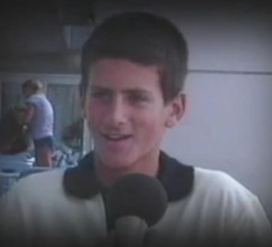 Novak 2003.godine