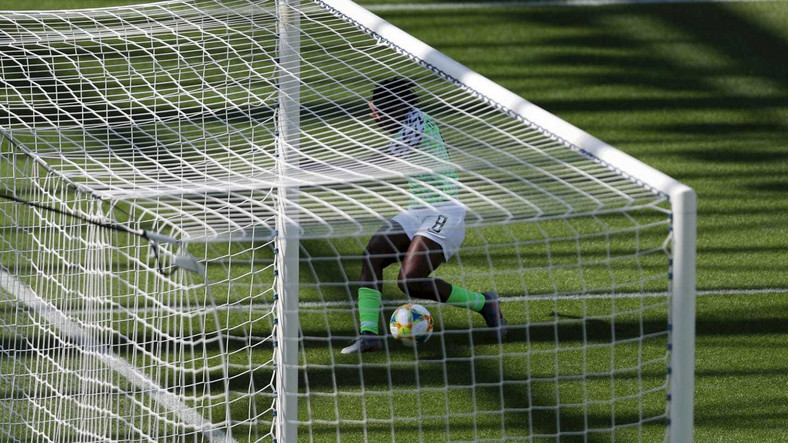 Asisat Oshoala netted Nigeria's second goal against South Korea on Wednesday afternoon (Getty Images)