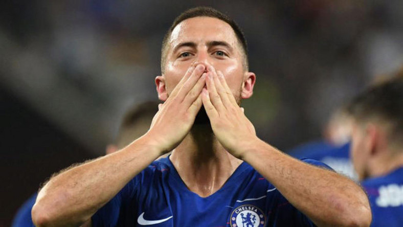 Hazard crowned Europa League Player of the Year