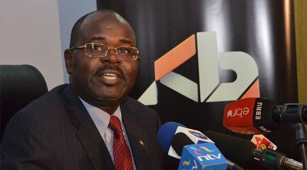 Kenya Banker Association (KBA) Chairman Habil Olaka.