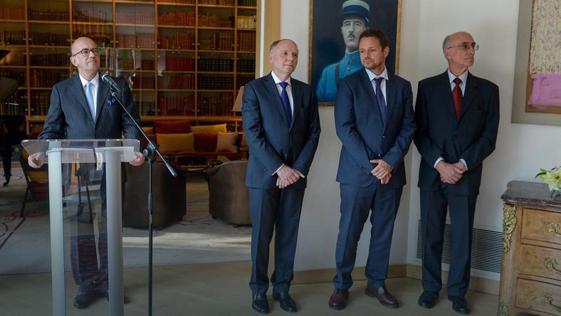 Ambasador Francji w Polsce, Pierre Levy wręczył odznaczenia