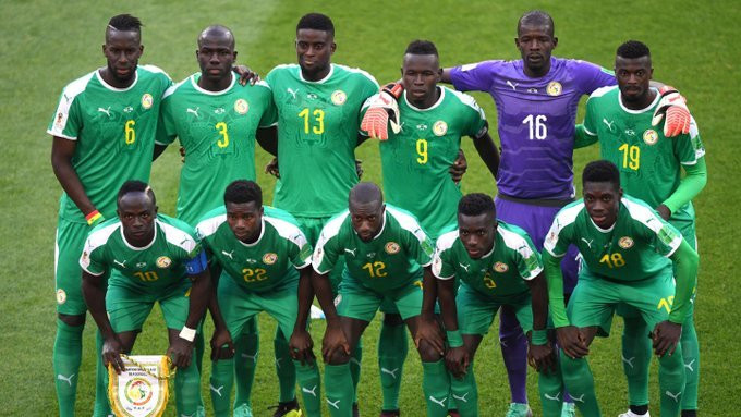 Senegal are the number one country in Africa (Twitter/FootballSenegal)