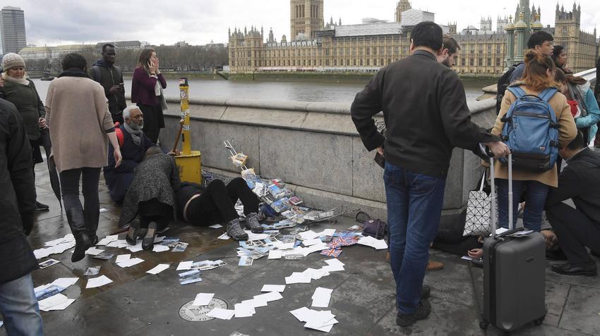 Zamach Photo: Zamach W Londynie. Wśród Rannych Jest Polak